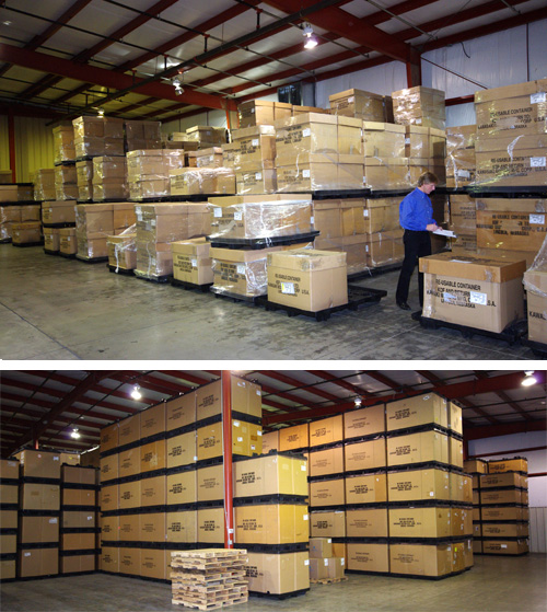 Optional product warehousing is another advantage when you choose Denver Plastics.